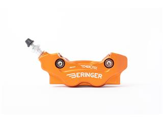 BERINGER Aerotec® MX Left Radial Brake Caliper 4 Pistons Orange