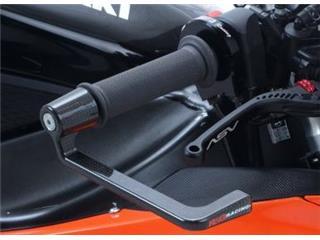 R&G RACING carbon fiber lever guard Kawasaki