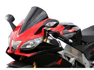 Bulle MRA Racing noir Aprilia RSV4