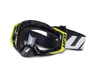 UFO Epsilon Goggle Black/White/Neon Yellow Clear Lens - 80400132