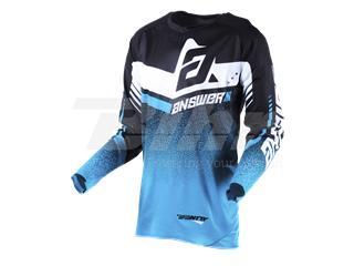 Camiseta ANSWER Trinity Negro/Azul/Blanco Talla L - 802100010170