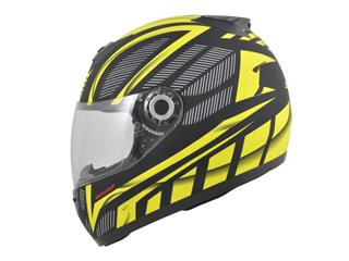 BOOST B530 Helmet Ultra Black/Yellow Matte Size L