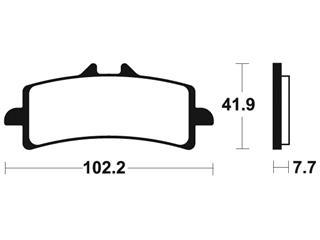Plaquettes de frein TECNIUM MF341 métal fritté - 9c8bbbd2-4a17-4162-b1f2-22ebaae13a22