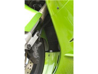 R&G RACING Radiator Guard Black Kawasaki Ninja ZX-12R - 61400108