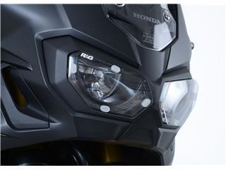 R&G RACING Headlight Shield Translucent Honda Africa Twin 1000 - 9c9c26f6-a225-4428-b211-7cedd686e22c