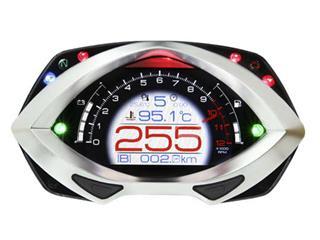 KOSO RXF Multi-Function Meter LCD Black/Silver