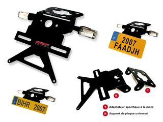 SUPPORT PLAQUE CB600F '03-06