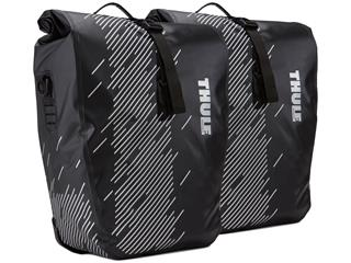 PACKVÄSKA THULE SHIELD PANNIER (LARGE) SVART 2X24L