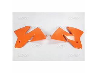 Ouïes de radiateur UFO orange KTM - 78533953