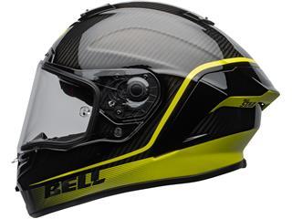 BELL Race Star Flex DLX Helmet Velocity Matte/Gloss Black/Hi Viz Size L - 9de46f6c-b44e-4bbb-80b2-c89047335bec