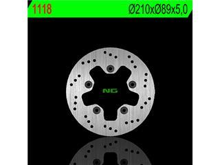 Disque de frein NG 1118 rond fixe - 3501118