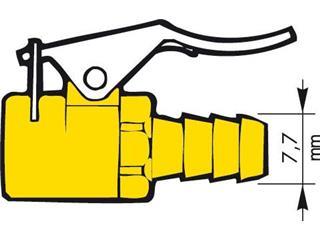 Raccord de gonflage PROVAC valve type Schrader