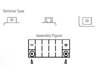 Batterie YUASA YTZ6V sans entretien activée usine - 9e8ab8fc-c71f-41a5-893e-3219d28ce125