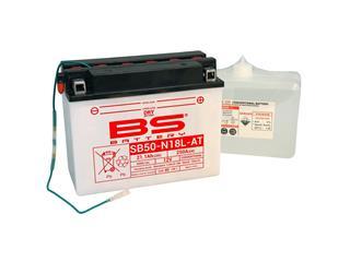 Batterie BS BATTERY SB50N18L-AT haute performance livrée avec pack acide