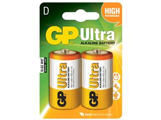 EXIDE LR20/D GP 13AU U2 Battery Ultra Alkalyne - 1.5V 2-Pack