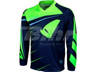 Camiseta Infantil UFO Hydra Boy Azul Oscuro/Azul Claro/Verde Flúor Talla S MG04415CS