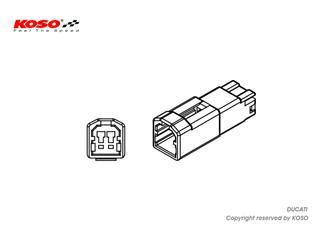 KOSO Indicator Adapter Ducati - 9eef1daa-986c-4286-a4f7-7e3b01702653