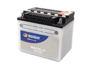 Batterie TECNIUM BB7C-A conventionnelle livrée avec pack acide - 329852