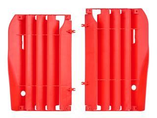 Cache radiateur POLISPORT rouge Honda CRF250R - 784557RD