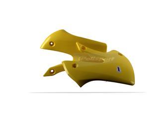 Ouïes de radiateur POLISPORT jaune Suzuki RM65/DR-Z110 - 784293YW