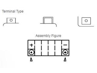 Batterie YUASA YTZ10S sans entretien activée usine - 9f987118-5c94-4028-8013-245c073e7a6f