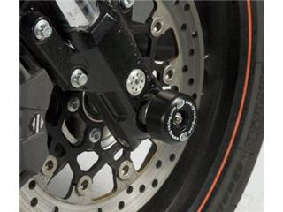 Protection de fourche R&G RACING noir Harley Davidson XR1200 X Sportster