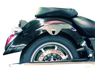 KLICBAG Saddlebag Bracket Set Chrome Yamaha XVS Midnight Star