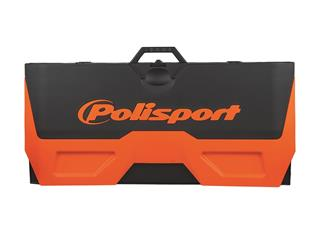 POLISPORT orange/black Foldable Bike Mat