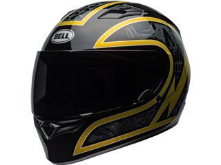 BELL Qualifier Helmet Scorch Gloss Black/Gold Flake Size XXL
