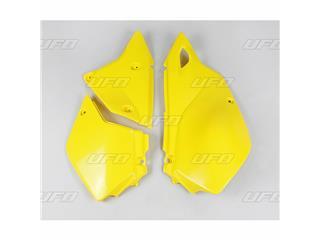 Plaques latérales UFO jaune Suzuki DR-Z400E - 78327464