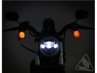 DENALI M5 LED Headlight Ø145mm Black Chrome - a0526473-d2a9-4338-93fe-90a890e7f53d