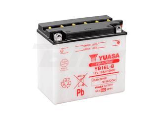 Batería Yuasa YB16L-B Combipack (con electrolito)