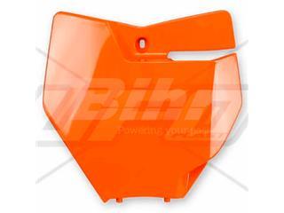 Portanúmeros delantero UFO KTM naranja fluor