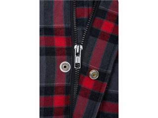 BELL Dixxon Flannel Jacket Grey/Red Size L - a11cd5e3-3357-41b5-849c-1d8b2a8d5741