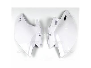 Plaques latérales UFO blanc Yamaha WR450F - 78429314