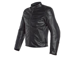 Leather Jacket Dainese Bardo Smoke/Black Sz 50