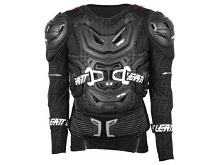 LEATT Body Protector 5.5 Protection Jacket with Sleeves in black, size S/M