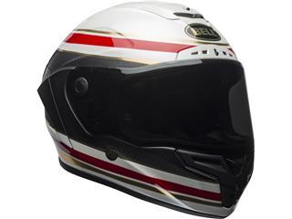 BELL Race Star Flex Helmet RSD Gloss/Matte White/Red Carbon Formula Size M - a169ce99-b1a5-4967-af83-9f81d94c9652