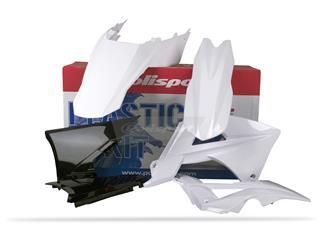 Kit plastique POLISPORT blanc Gas Gas EC - PS611WB05