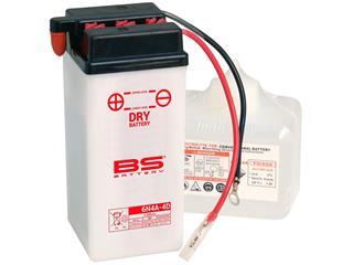 Batterie BS BATTERY 6N4A-4D conventionnelle livrée avec pack acide - 321045