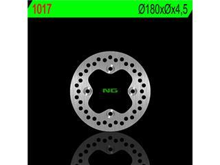 Disque de frein NG 1017 rond fixe - 3501017