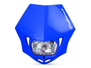 Plaque phare POLISPORT MMX bleu  - PS025B04