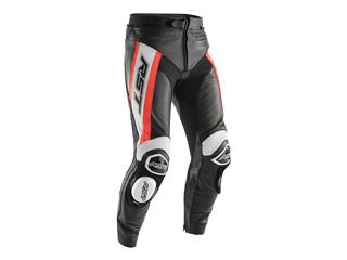 RST TracTech Evo R Pants CE Leather Flo Red Size S Men