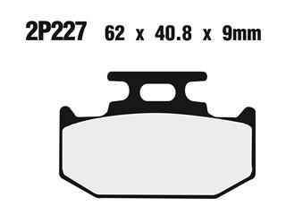 NISSIN Brake Pads 2P227ST Sintered Metal
