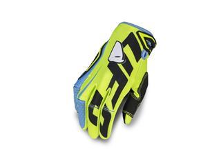UFO Blaze Gloves Neon Yellow/Blue Size XL