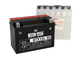 BS BATTERY Batterien BTX15L-BS wartungsfrei mit säurepack geliefert