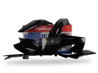 Kit plastique POLISPORT noir Honda CR125R/CR250R - PS211BC21