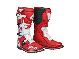 Bottes UFO Obsidian rouge/blanc taille 47