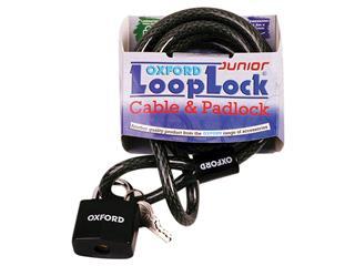 Antivol câble OXFORD Looplock 2m x 15mm fumé - 25000221