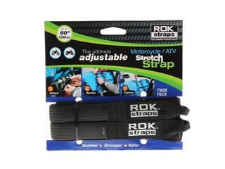 ROK Stretch Adjustable Strap Black